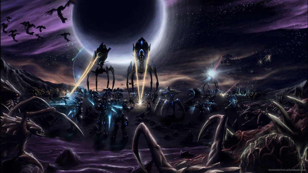 Opis kolejnej z ras w Starcraft - Zergi
