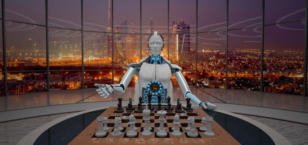Walka esportowców i szachisty ze sztuczną inteligencją